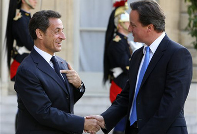 SARKOZY'S  AND  CAMERON'S NEW SUEZ