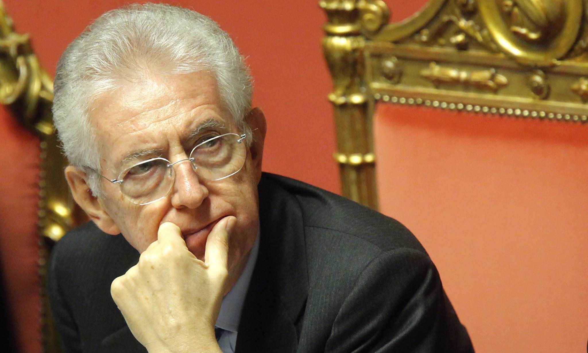 CHE PERDONARE AL SEMI-LIBERTADOR MARIO MONTI