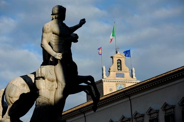 PRESIDENZIALIASMO MARIUOLO  MEGLIO CHE TENERCI LA 'COSTITUZIONE PIU' BELLA'